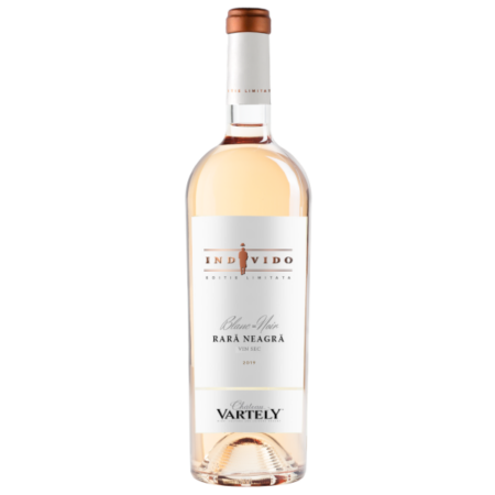 Individo Rara Neagra Rosé Limited Edition - Roséwein Cuvée von Château Vartely