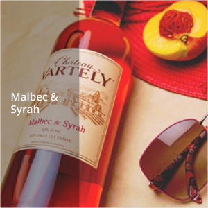 Malbec & Syrah Rosé – Roséwein Cuveé von Château Vartely