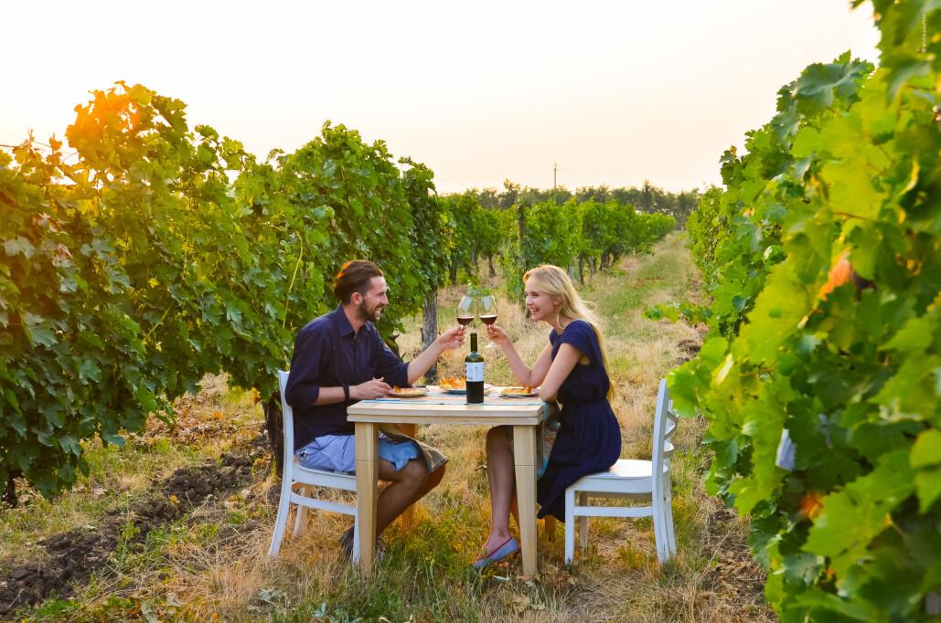 Abendessen im Weingut bei Et Cetera