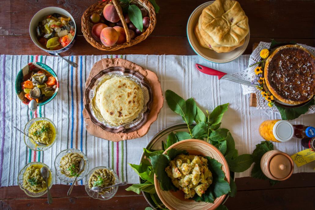 Traditionelle moldawische Küche