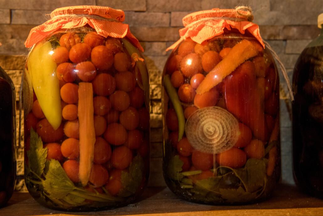 Moldawische traditionelle Küche: Eingelegte Gemüse